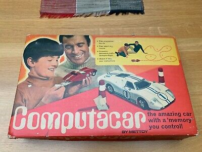 £28.99 • Buy Vintage Computacar Ford Gt40 By Mettoy Complete With Original Box