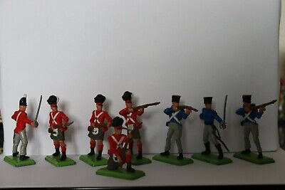 £4 • Buy Britains Deetail Napoleonic Soldiers, 5 British, 3 French