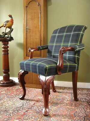 AU450 • Buy ANTIQUE GEORGIAN STYLE MAHOGANY CHAIR / ARMCHAIR ~ IN LOVELY ORDER  Late 1800s