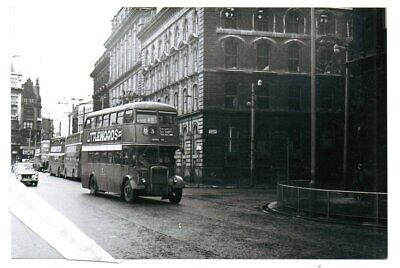 £0.75 • Buy Manchester Corporation  Leyland Pd2  Registration  Number Nnb 206 Bus Photograph