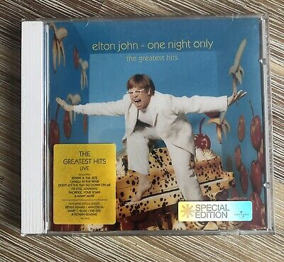 £3.50 • Buy Elton John One Night Only Greatest Hits Special Edition