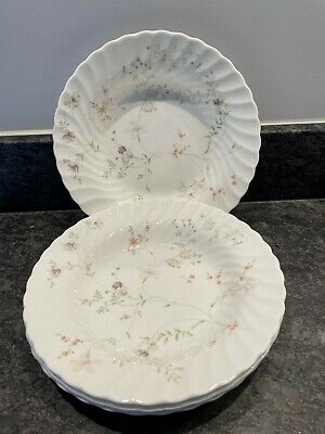 £29.99 • Buy 4 Wedgwood Campion Fine Bone China 22cm Soup Bowl / Plates Four In Total