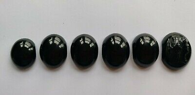 £10 • Buy Antique Victorian Whitby Jet Pieces, Jewellery Making One Carved Lady Face X6