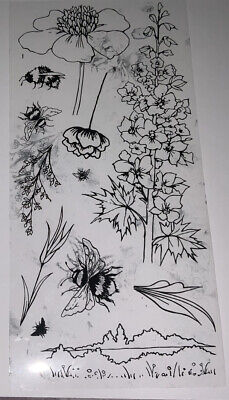 £1.40 • Buy Hobby Art Stamp Flowers And Leaves