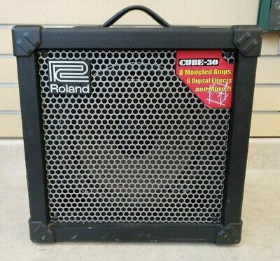 $ CDN249 • Buy Roland Cube 30 COSM Guitar Amplifier Pre-owned Free Shipping