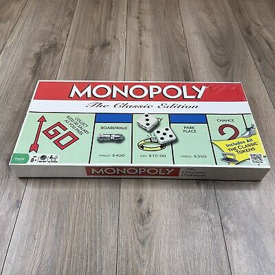 £28.60 • Buy Monopoly The Classic Edition Board Game NEW SEALED
