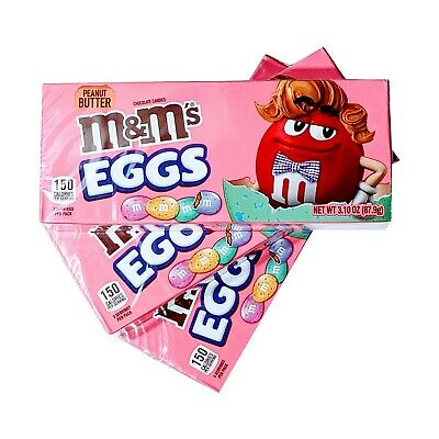 $11.99 • Buy M&M's Peanut Butter Eggs, Easter Candy, 3 Packs Lot