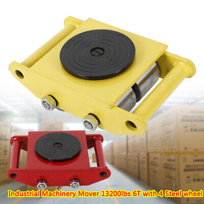 $69 • Buy Heavy Duty Machine Dolly Skate Machinery Roller Mover Cargo Trolley 6T 13200lbUS