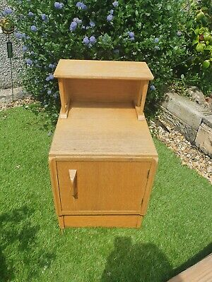 £55 • Buy Vintage G Plan E Gomme Bedside Cabinet Table Chest .