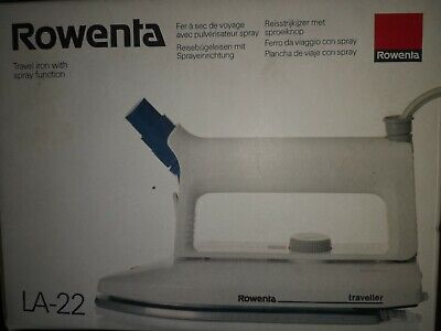 £12.99 • Buy Rowenta Travel Iron LA-22, Iron  -  Complete With Instructions Box Etc Used Once