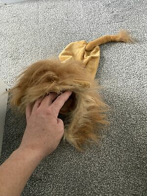 £1.60 • Buy Adorable Cute Dog Clothes Cat Lion Simba Outfit Costume Hair Pet Costumes M