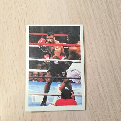£59.95 • Buy MIKE TYSON CARD A Question Of Sport 1986 Rookie Superb Condition
