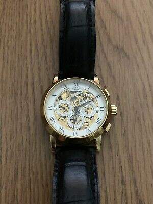 £40 • Buy Rotary Mens Automatic Skeleton Watch