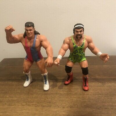 £29.99 • Buy WCW The Steiner Brothers Galoob Vintage UK Exclusive Action Figures