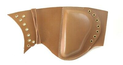 $24.99 • Buy Extra Thick BROWN LEATHER LACE UP SNIPER BUTTSTOCK CHEEK PAD M1 Garand