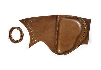 $24.99 • Buy BROWN LEATHER LACE UP SNIPER BUTTSTOCK CHEEK PAD M1 Garand