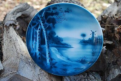 $13.99 • Buy ANTIQUE DECORATIVE PLATE Windmill & Lake Petrus Ragout Co. Maastricht Holland