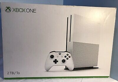 AU350.52 • Buy Microsoft Xbox One S 2TB Console - White With One Controller