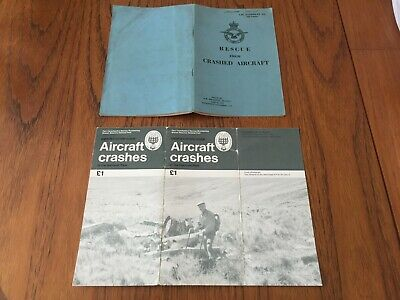 £8 • Buy Rescue From Crashed Aircraft(1957) + Aircraft Crashes In The National Park(1993)