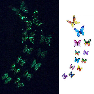 £4.39 • Buy 3D Simulation Butterfly Wall Sticker,DIY Beautiful Butterfly Wall Decals Decor