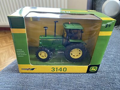 £26 • Buy BRITAINS JOHN DEERE 3140 TRACTOR MODEL1/32 LAYOUT, 4wd FARM CLASSIC New
