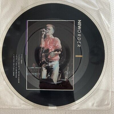 """£7.49 • Buy New Order - Interview 1987 Limited 3000 7"""" Interview Picture Disc"""