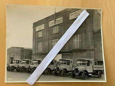£24.99 • Buy Large Lorry / Truck Official Thornycroft Photo  - Group Of Vehicles At Factory