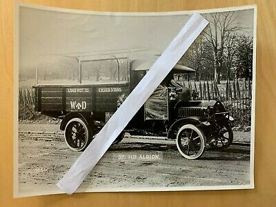 £14.99 • Buy Large Lorry / Truck Official Albion Photo  - 32 H.p. Albion 3 Tonner