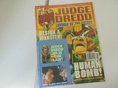 £9.99 • Buy Judge Dredd Lawman Of The Future Issue #15 With Free Stickers