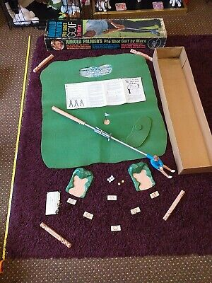 £8.40 • Buy  Vintage Collectable Official Arnold Palmer's Pro Shot Golf Game By Marx  Boxed