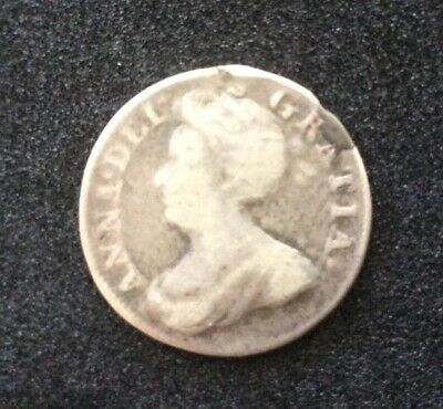 £15 • Buy Rare 1713 Queen Anne Silver Maundy 4d Fourpence/Groat Early Milled Coin