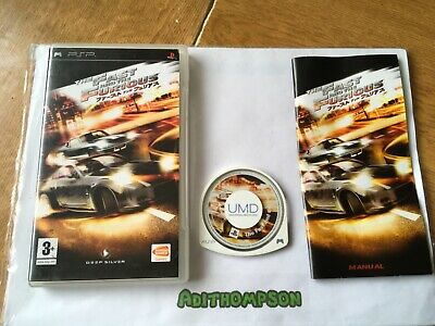 £7.97 • Buy The Fast And The Furious Game Psp Sony PlayStation Portable UMD