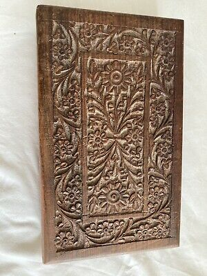£19.99 • Buy Antique Wooden Hand Carved Decorative Trinket Jewellery Box
