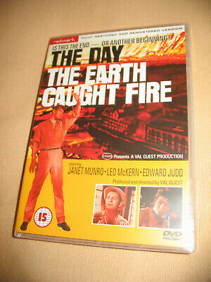 £3.95 • Buy The Day The Earth Caught Fire DVD - Edward Judd, Leo McKern, Janet Munro, 1961