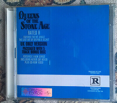 £0.99 • Buy Queens Of The Stone Age Rated R CD (2000) 5 Track Bonus Disc