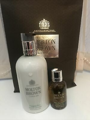 £9.50 • Buy Molton Brown 300ml Pettigree Dew Soothing Hand Lotion With Free 50ml Body Wash