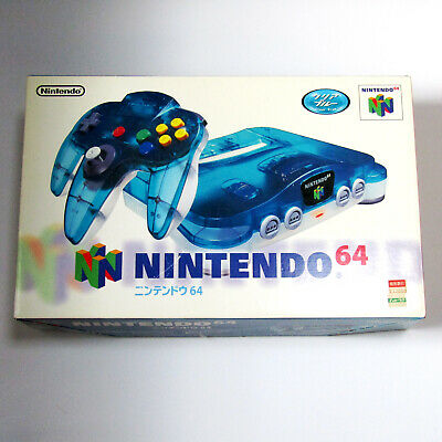 $ CDN69.36 • Buy Nintendo 64 Clear Blue Console With AV Cable Tested Working N64 NUS-001 Limited