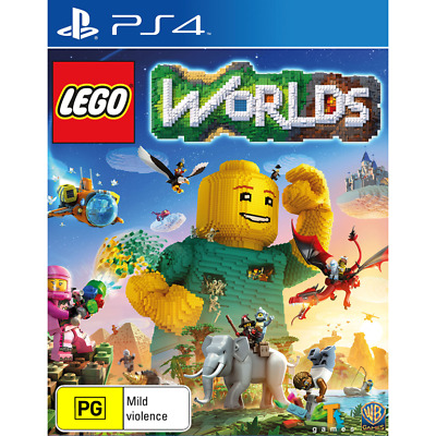 AU33.99 • Buy Lego Worlds PS4 VERY GOOD FREE POST + TRACKING INC MANUAL DISC IS MINT!