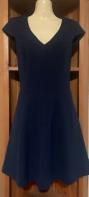 AU12 • Buy Forever New Navy Dress Size 8...as New Condition