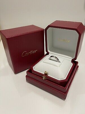 AU600 • Buy Cartier Love Ring White Gold One Diamond