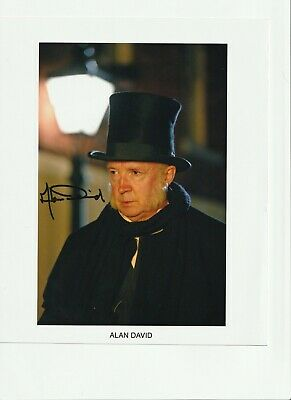 £10.50 • Buy Alan David Dr Who Signed 10X8 Photo With Coa