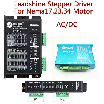 $103 • Buy Leadshine Stepper Driver Controller Adapter For Nema17,23,34 Motor CNC Control
