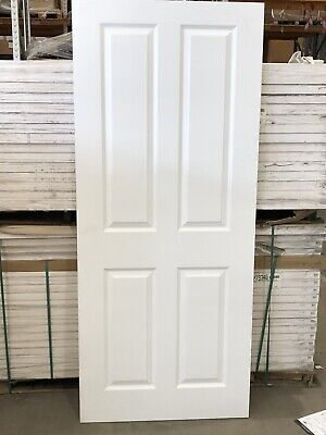 £39.99 • Buy ATHERTON SMOOTH 4 PANEL FD30 FIRE DOORS 1981mm X 610mm X 44mm FLASH SALE NOW ON