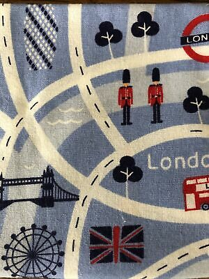 £2.99 • Buy London Theme Fat Quarter Cotton Sewing Crafts