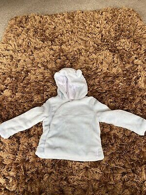 £3.89 • Buy Light Blue With Bear Ears On Hood Mothercare Hoodie Size 12-18 Month