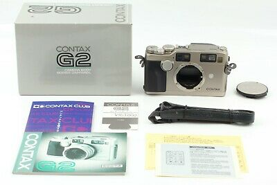 $ CDN1888.15 • Buy 【 BOXED MINT 】 Contax G2 35mm Rangefinder Film Camera Body From JAPAN #2389