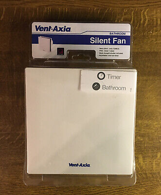 £38.99 • Buy Vent-Axia Silent Bathroom Extractor Fan With Timer Brand New Sealed Cost £60.00