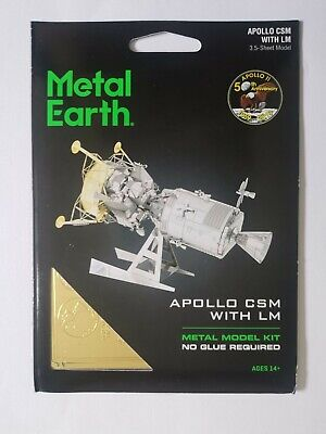 £19.99 • Buy Metal Earth Apollo CSM With LM Model Kit