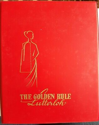 £85 • Buy The Golden Rule Pattern Book, Lutterloh Late 1950s/60s, 400+ Sewing Patterns
