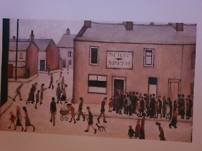 £7.99 • Buy L S Lowry  The Chip Shop  Framed Print